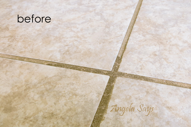 The Best Kept Secret To Cleaning Tile And Grout Hometalk - Best method to clean tile grout
