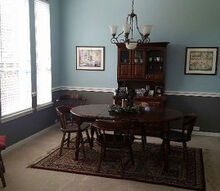 painted dining room furniture, dining room ideas, home decor, painted furniture