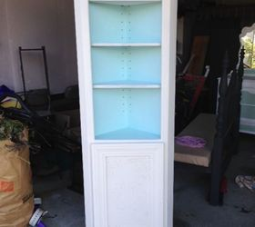Painted Furniture Corner Shelf Cabinet Upcycle, Chalk Paint, Painted  Furniture, Repurposing Upcycling, ...