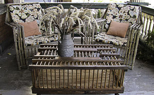 chicken coop coffee table upcycle, diy, repurposing upcycling