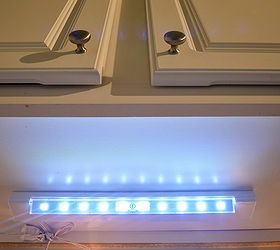 Beau Apartment Lighting Project Battery Operated Led Under Cabinet Light, Kitchen  Cabinets, Kitchen Design,