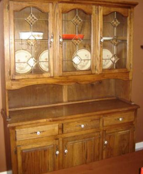 Painting An Antique Hutch Like New Hometalk