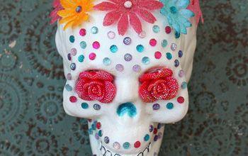 Make Your Own Sugar Skull for Festive Halloween Decor