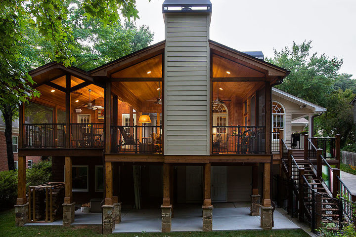 porch decks makeover inspiration, decks, outdoor living, porches