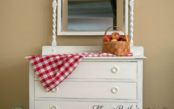 A New Look for an Antique Dresser