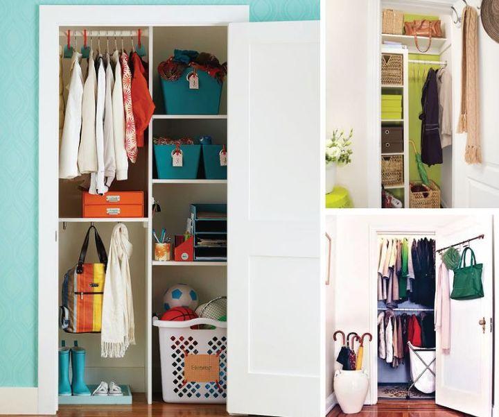 organizing coat closet ideas storage, closet, organizing, storage ideas