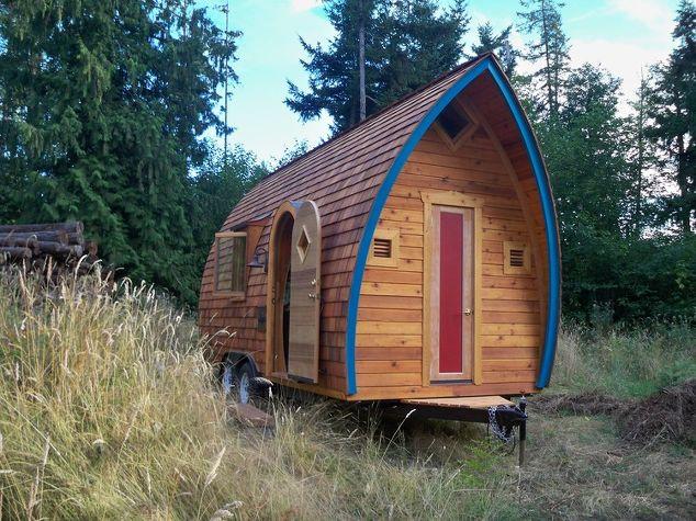 Tiny Homes Unique Interior Home Decor Architecture Go Green