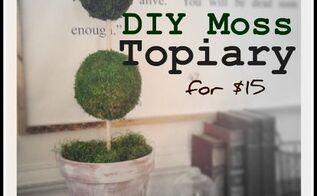 15 moss topiary what what, gardening