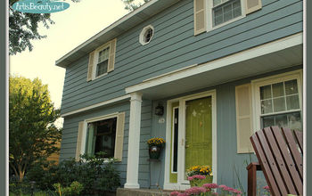 Whole House Painted Makeover! Exterior Paint Makeover