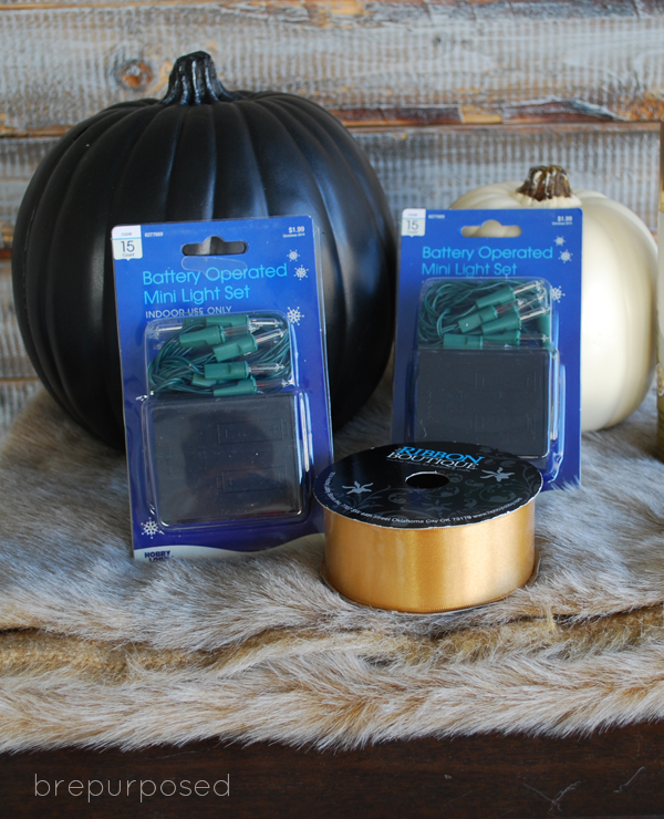 crafts faux fur covered pumpkins, crafts, seasonal holiday decor
