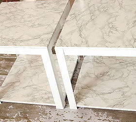 Target Faux Marble Tables Room Essentials, Painted Furniture, Repurposing  Upcycling