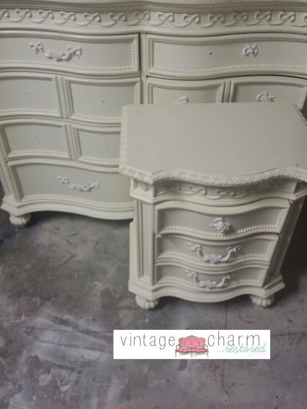 Hand Painted Princess Furniture Painting Repurposing Upcycling