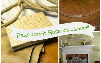 My Patchwork Hassock DIY