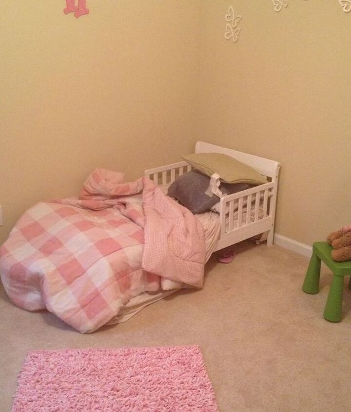 100 little girl s room makeover reveal, bedroom ideas, home decor, painting, wall decor
