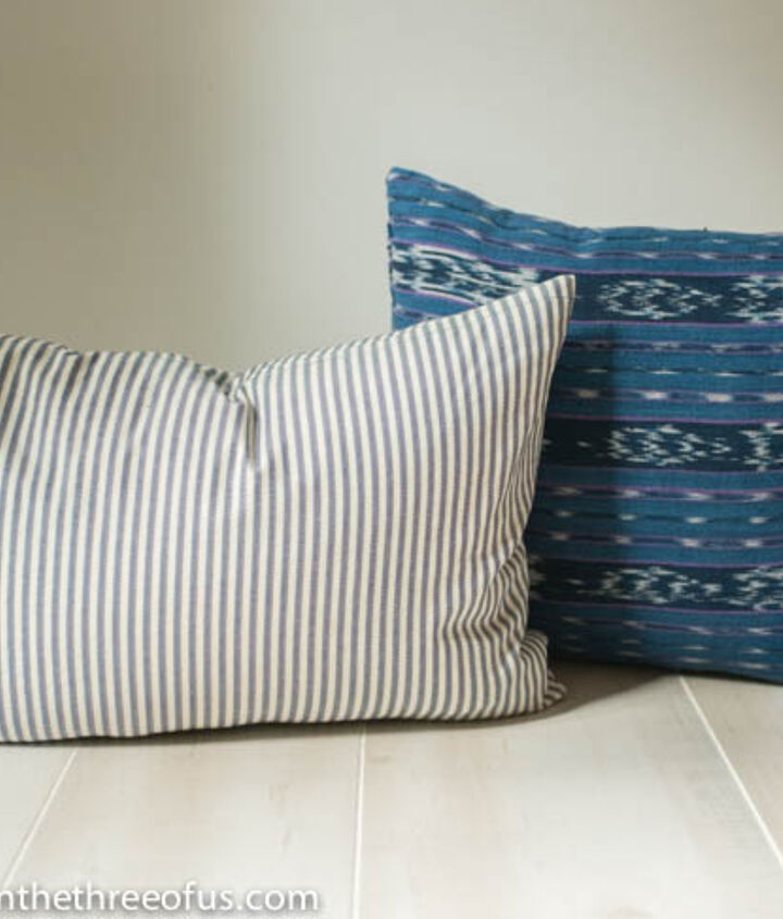 upcycle old clothes pillow covers, home decor, repurposing upcycling, reupholster
