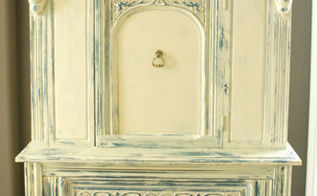 painted furniture cabinet makeover decorative annie sloan, chalk paint, diy, painted furniture, woodworking projects