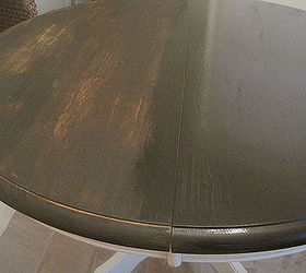 Craigslist Dining Table Makeover Tutorial, Dining Room Ideas, Diy, How To,  Painted