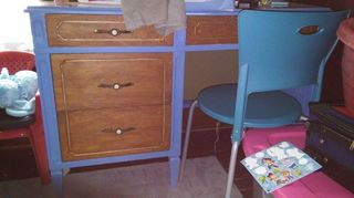 q what should i do with this great old vintage 50 s bedroom furniture, painted furniture, repurposing upcycling