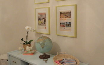 Creating a Gorgeous Vintage-Inspired Home Office With Paint!