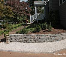 landscaping retaining wall building, concrete masonry, diy, landscape