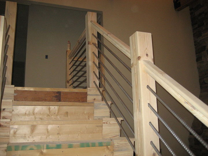 DIY Cable-Rail Staircase | Hometalk
