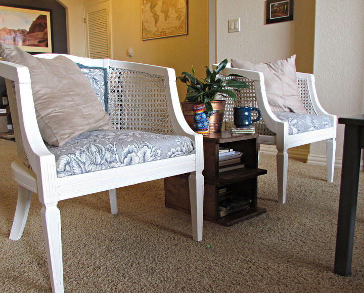 Upcycle Upholstery Chairs Craigslist Transformation Diy Home Decor Painted Furniture Reupholster