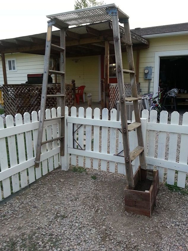 pallets garden shed space, fences, gardening, outdoor living, pallet, repurposing upcycling, storage ideas