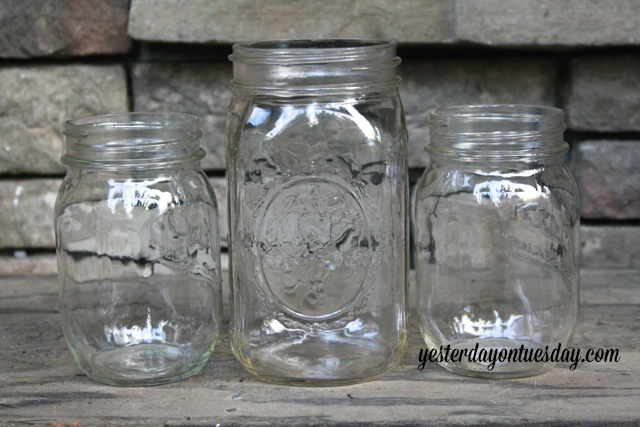 mason jar vase spider web halloween decoration crafts halloween decorations mason jars