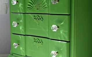 painted furniture chest makeover antibes green, bedroom ideas, chalk paint, painted furniture