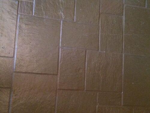 Painted Slate Floor