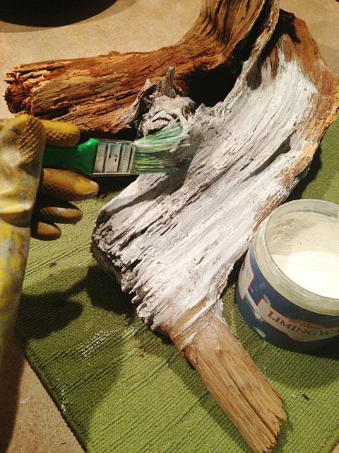 Diy Driftwood Candle Holder Hometalk
