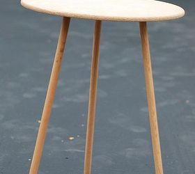 Upcycled Tripod Table, Bedroom Ideas, Painted Furniture, Rustic Furniture