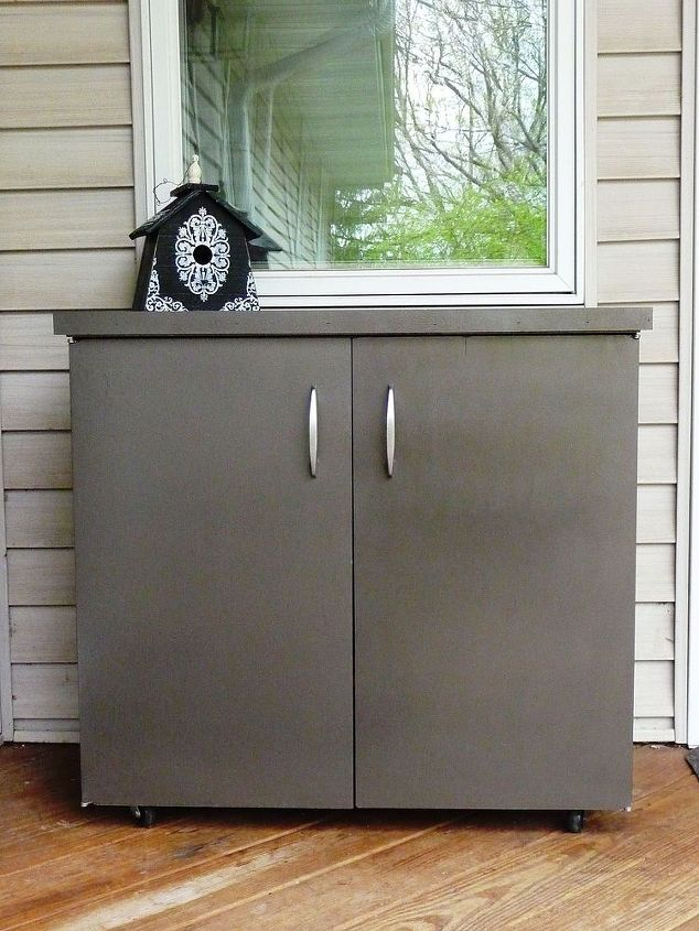 Deck Storage Cabinet Painted Furniture Repurposing Upcycling Ideas