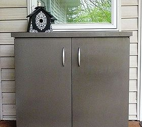 Deck Storage Cabinet, Painted Furniture, Repurposing Upcycling, Storage  Ideas