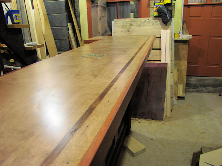 Finished bar top!