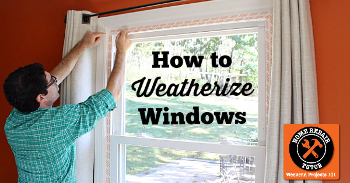How to insulate your windows with plastic youtube.