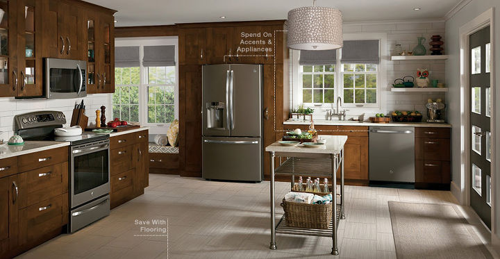 6 beautiful kitchen s for a variety of budgets, home improvement, kitchen design