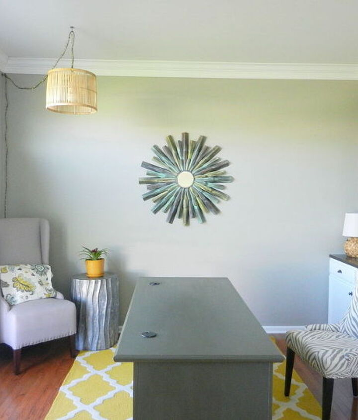 home office makeover reveal, home decor, home office, painted furniture