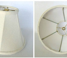q button lampshade to line or not to line, crafts, lighting, repurposing upcycling
