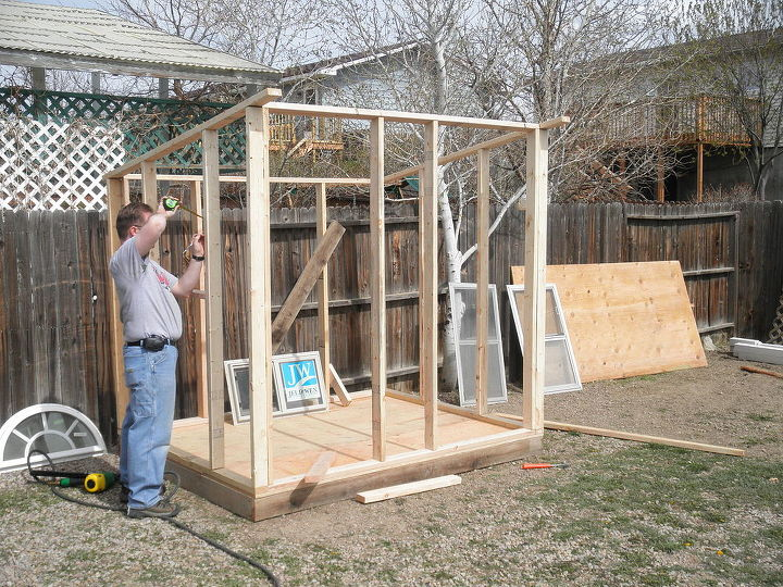 Building a Playhouse Garden Shed – Easy Garden Shed Plans