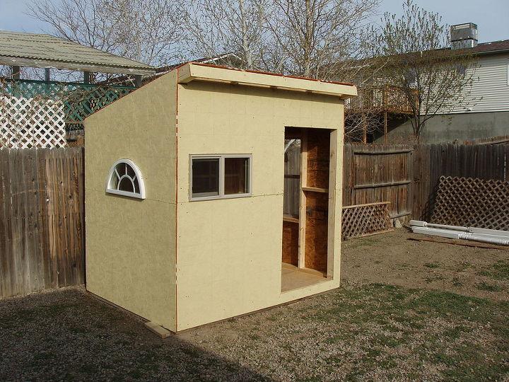 Building A Playhouse Garden Shed Hometalk