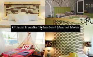 diy headboard ideas tutorials, bedroom ideas, diy, home decor, repurposing upcycling