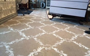 Ugly Plywood Floor Transformed Into Beauty