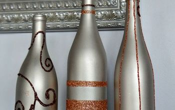crafts fall wine bottle decor, halloween decorations, home decor, repurposing upcycling, seasonal holiday decor