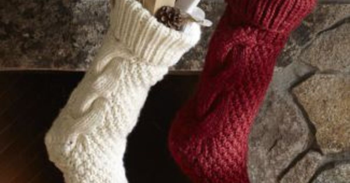 Turn an old sweater into a stocking | Hometalk