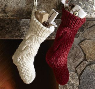 Turn An Old Sweater Into A Stocking Hometalk