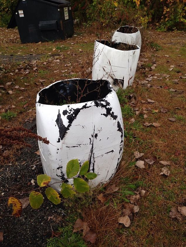 beautifying barrels any ideas, basement ideas