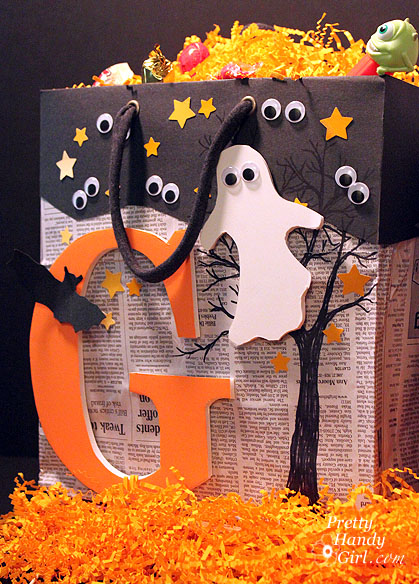 halloween crafts trickortreat bags, crafts, halloween decorations, repurposing upcycling