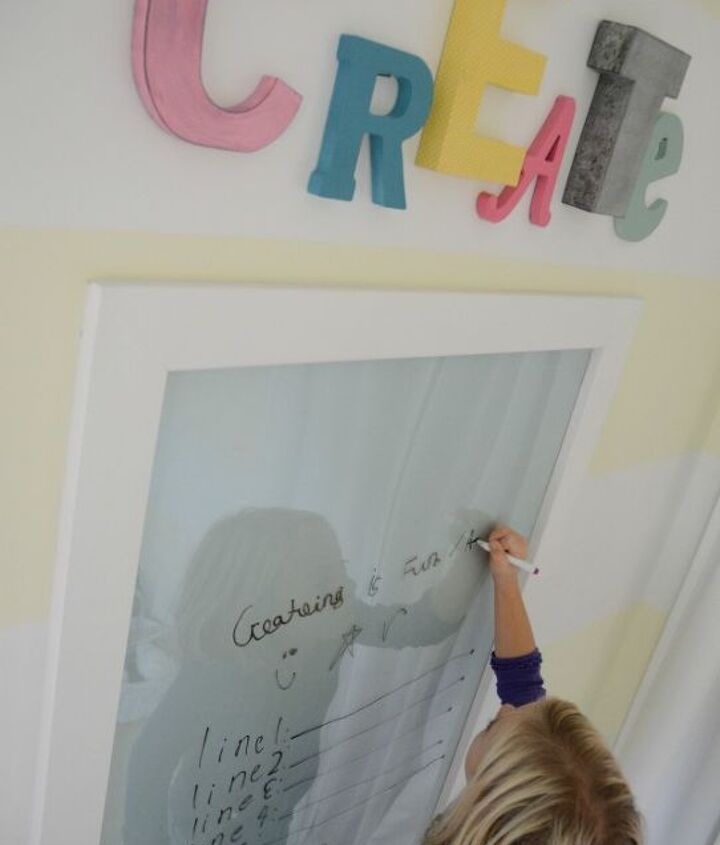 wall decor dry erase create letters, crafts, diy, home decor, wall decor