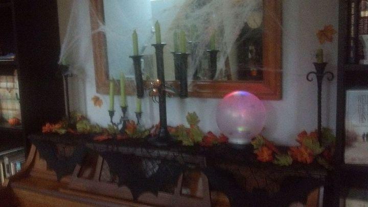 repurposing upcycling crystal ball junk, crafts, repurposing upcycling